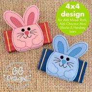 Bunny Chocolate Slider 4x4