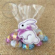 Sweet Bunny Treat Bag Topper