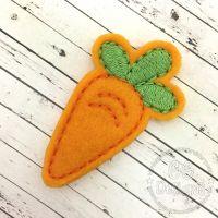 Chubby Carrot Felt Stitchies
