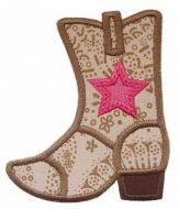 Cowboy Boot Applique