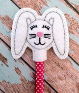 Floppy Bunny Pencil Topper