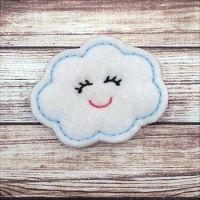 Cloud Felt Stitchies