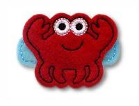 Crab Felt Stitchies