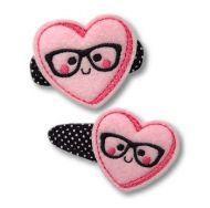 Nerd Candy Heart Felt Stitchies