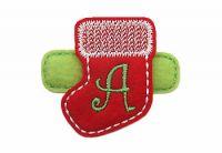 Christmas Stocking Monogram Felt Stitchies