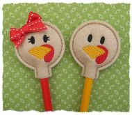 Turkey Face Pencil Toppers