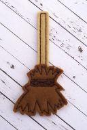 Witch Broom Oversized Feltie