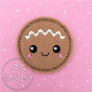 Gingerbread Baby Felt Stitchies