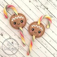 Gingerbread Candy Cane Slider