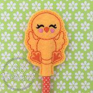 Happy Chicken Pencil Topper