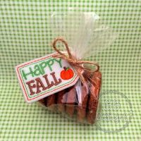 Happy Fall Treat Bag Topper