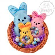 Marshmallow Bunny Peekaboo Treat Bag