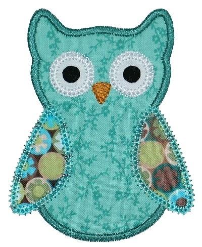 Ollie Owl Applique
