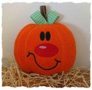Percy Pumpkin softie