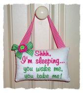 Baby Door Pillow