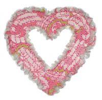 Rag-It-Up Heart Outline Applique