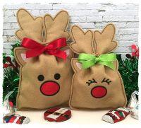 Reindeer Treat Bag