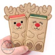 Reindeer Chocolate Sleeve