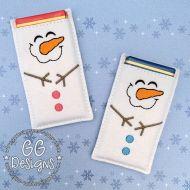 Happy Snowman Chocolate Sleeve