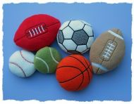 Sporty Pup dog toys