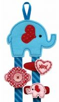 Valentine Elephant Clippie Keeper